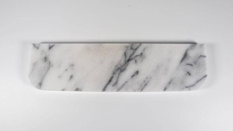 White marble wrist rest