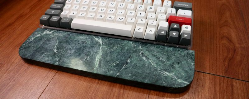 green marble wrist rest