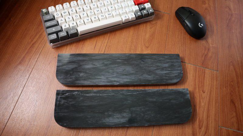 black marble wrist rest